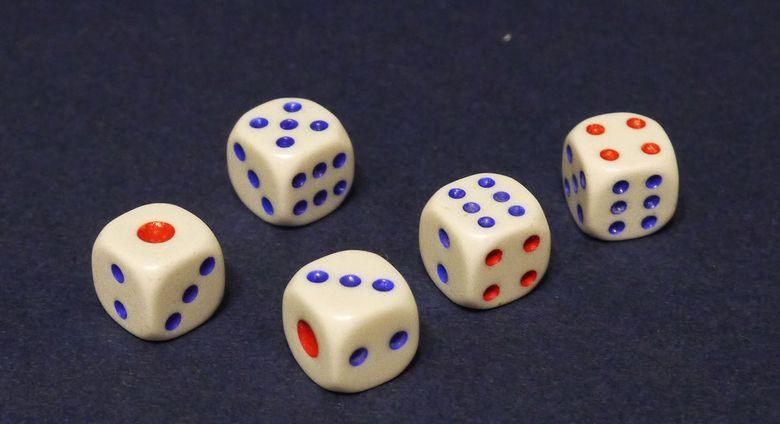 Игра в кости 5 кубиков: правила